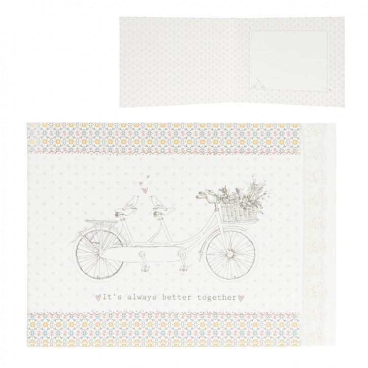 Card/paper 18x13 cm