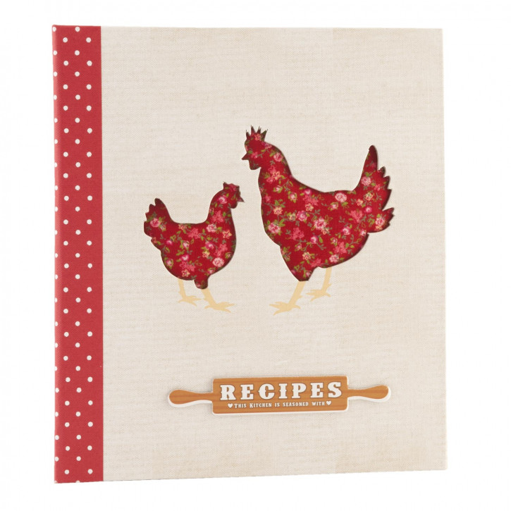 Recipe book 20x23 cm (54p)
