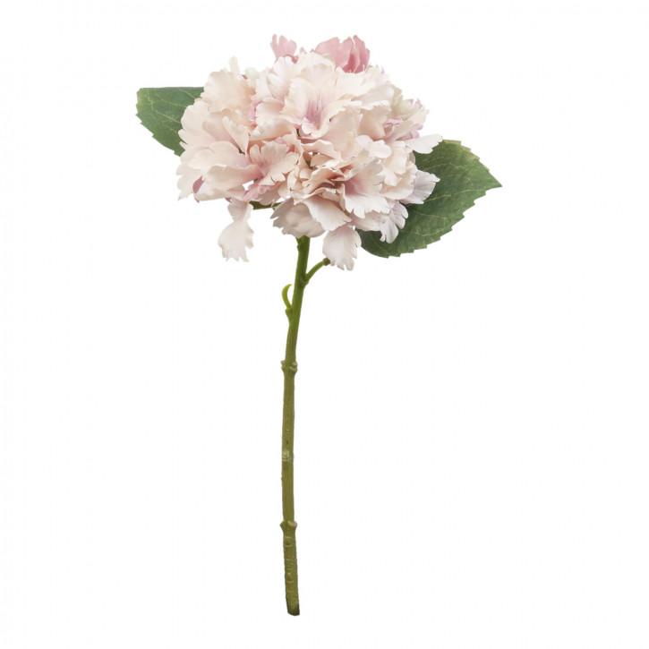 Hortensie Kunstblume Blumendekoration Blume hellrosa ca. 34 cm