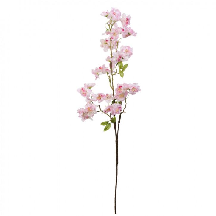 Kunstblume Blumendekoration Blume hellrosa ca. 85 cm