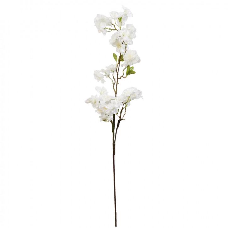 Kunstblume Blumendekoration Blume weiß ca. 85 cm