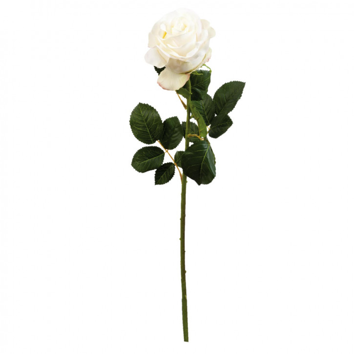 Rose Kunstblume Blumendekoration Blume natürlich ca. 68 cm