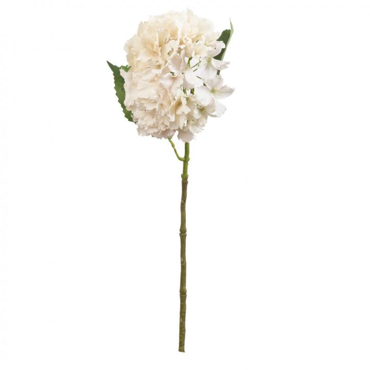 Hortensie Kunstblume Blumendekoration Blume natürlich ca. 57 cm