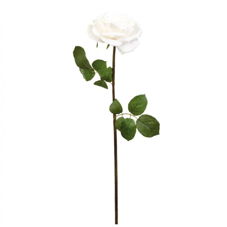 Rose Kunstblume Blumendekoration Blume weiß