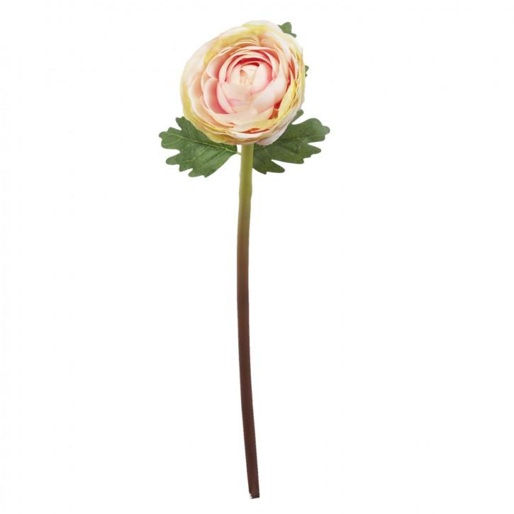 Hahnenfuß Kunstblume Blumendekoration Blume rosa ca. 44 cm