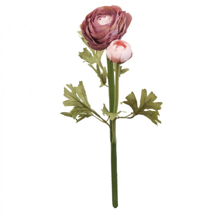 Hahnenfuß Kunstblume Blumendekoration Blume hellrosa