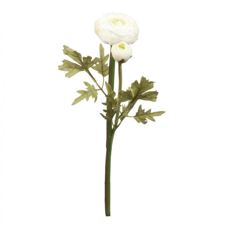 Hahnenfuß Kunstblume Blumendekoration Blume weiß