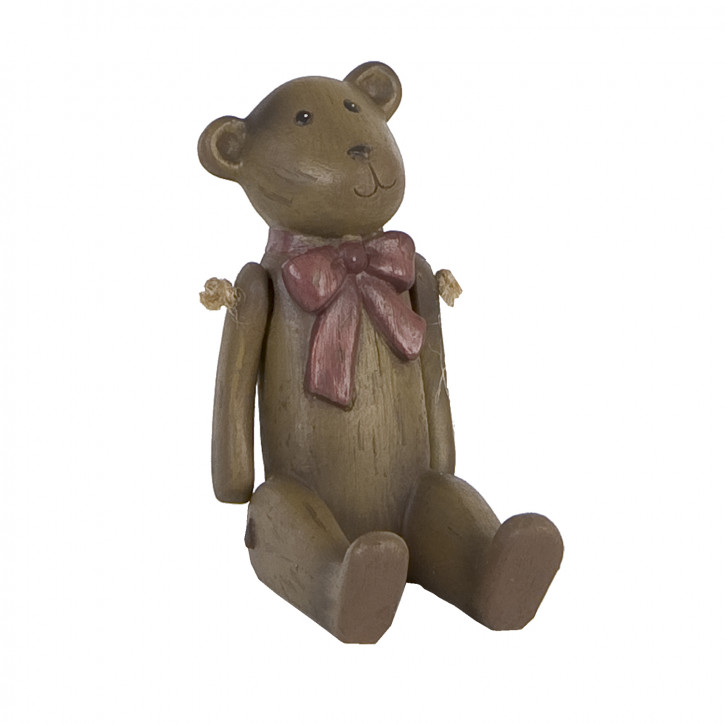 Schöner Deko Teddybär dunkelbraun