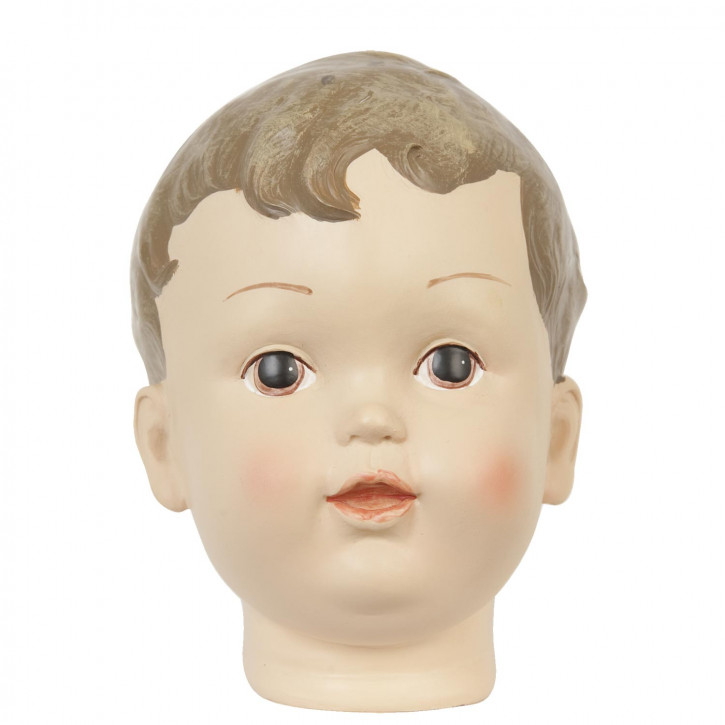Dekorativer Kinderkopf