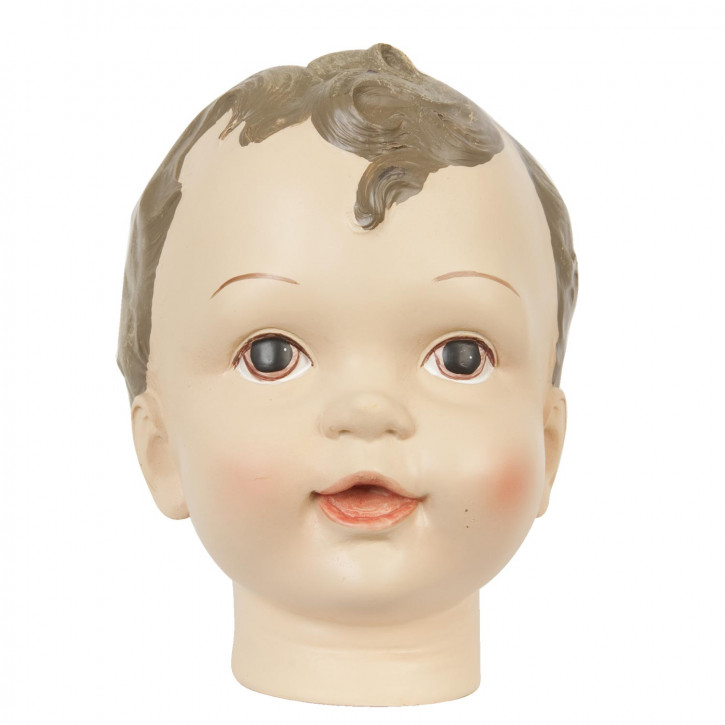 Dekorativer Kinder Kopf