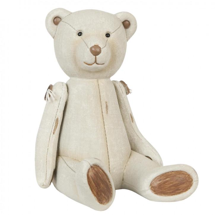Schöner Deko Bär beige 12*12*16cm