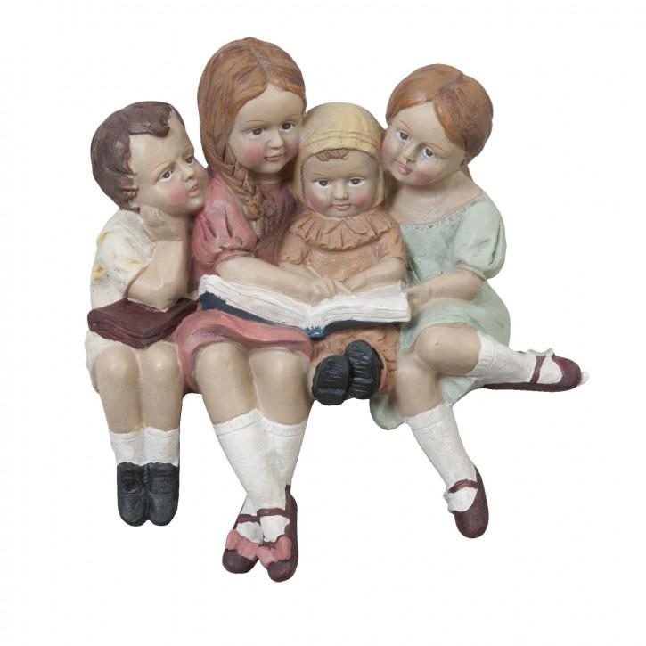 Sitzende Kinder, Figur