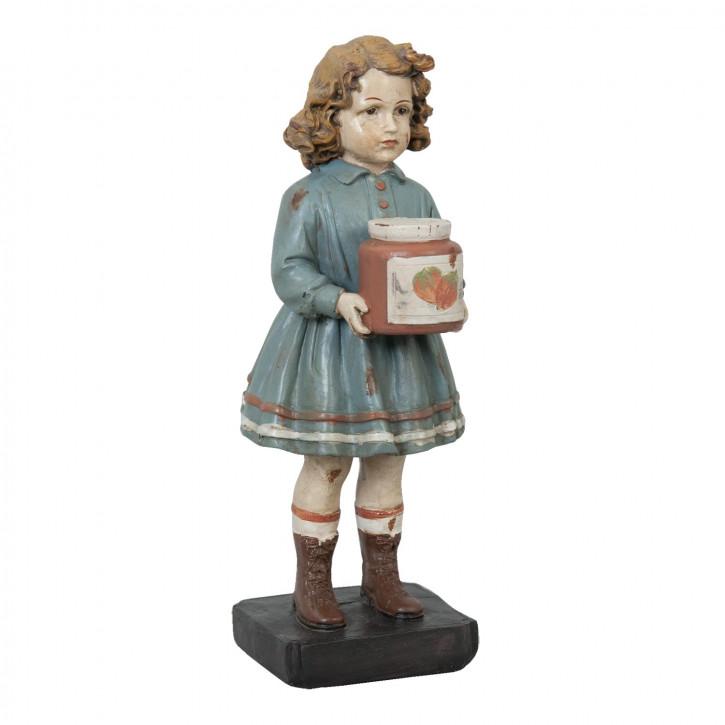 Deko Mädchenfigur im Nostalgie-Look