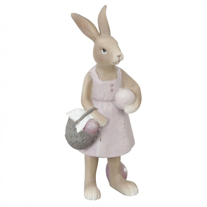 Dekoration konijn 6x5x14 cm