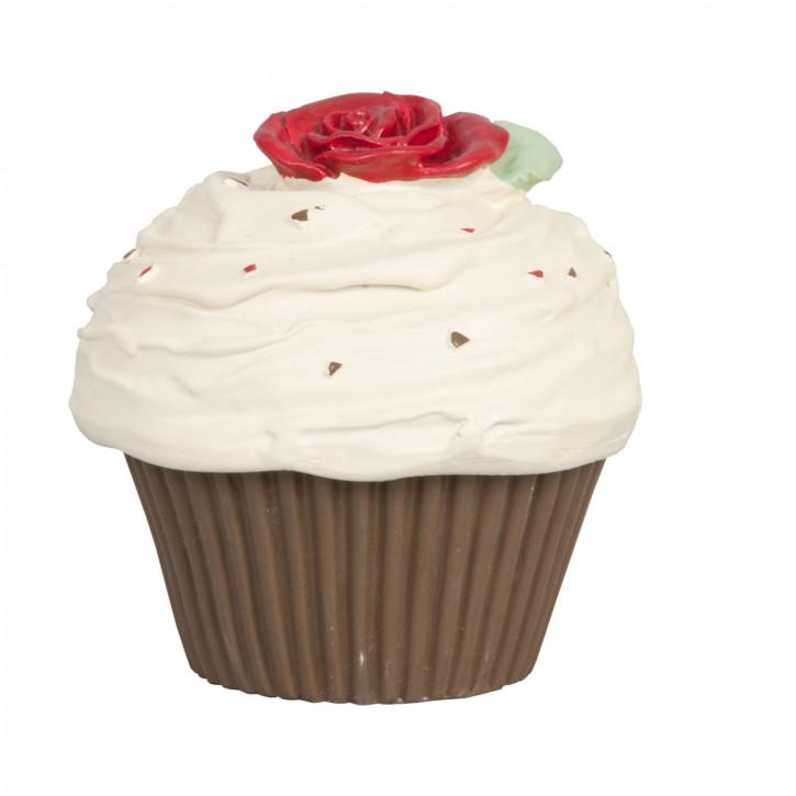 Dekoration muffin    Mit  Sahne und frucht 8*8*8,5 cm