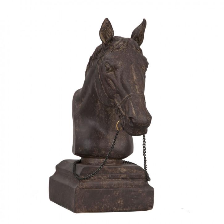 Pferdekopf Statue