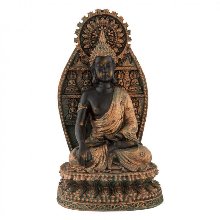 """Dekoration Buddah """"RATNASAMBHAVA"""" 10*19cm"""