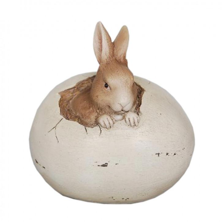 Decoratie konijn 9x7x9 cm
