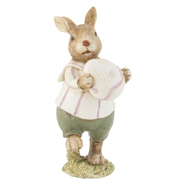 Deko Dekoration Figur Kaninchen Osterhase Hase Ei ca. 14 cm