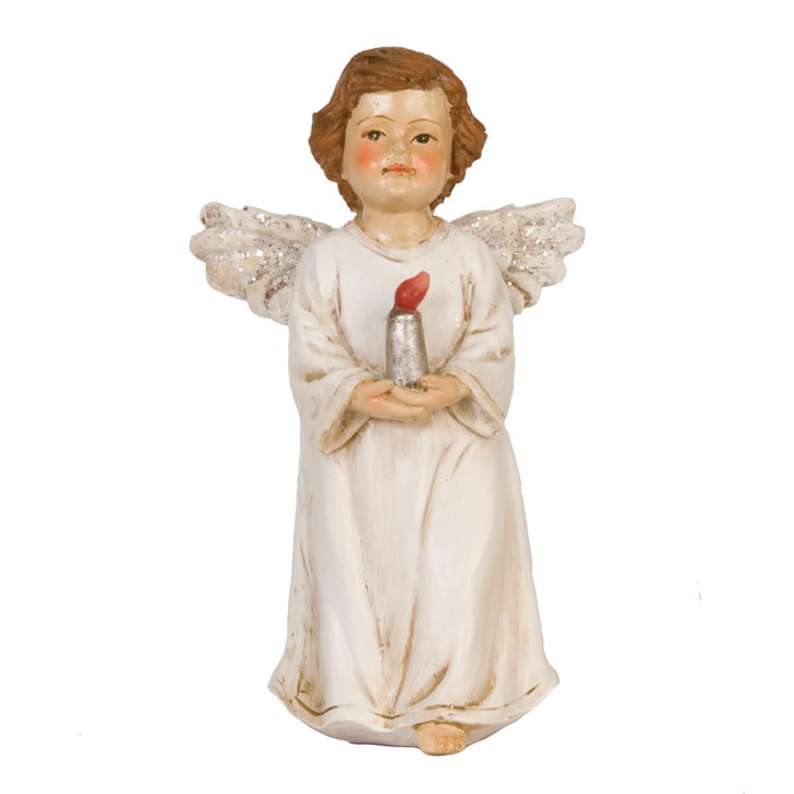 Angel with candle 11 cm