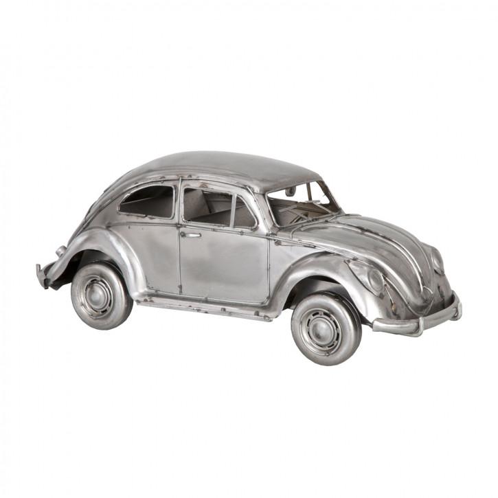 Modell Volkswagen Käfer grau aus Metall