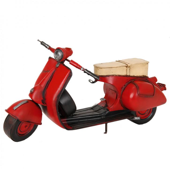 Modell Vespa Motorroller Scooter aus Metall
