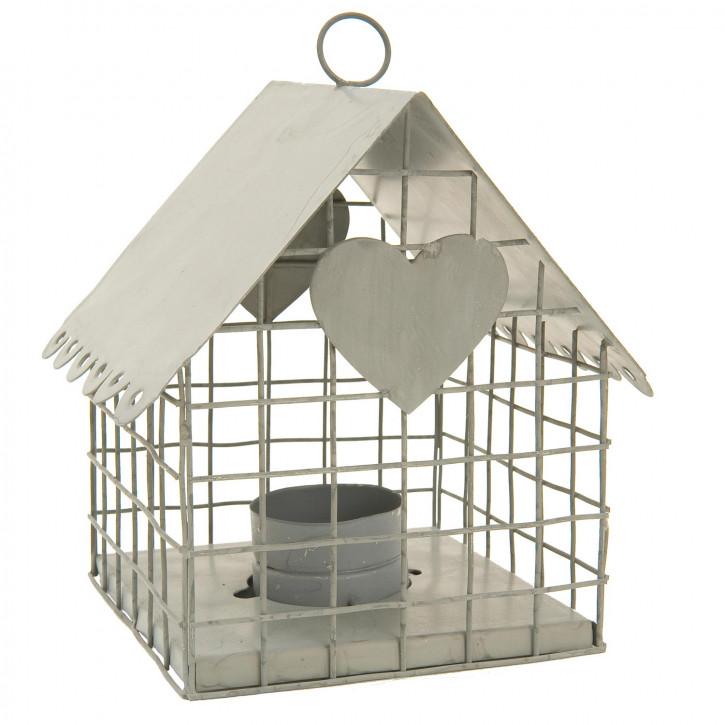 """Teelichthalter """"Vogelhaus"""" 15*12*14cm"""