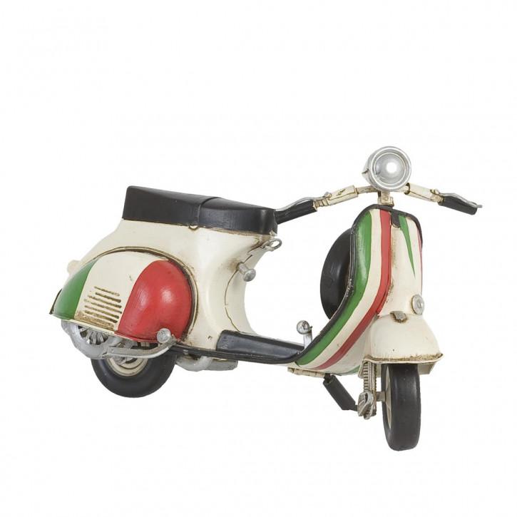 Modell Motoroller Vespa Italia aus Metall
