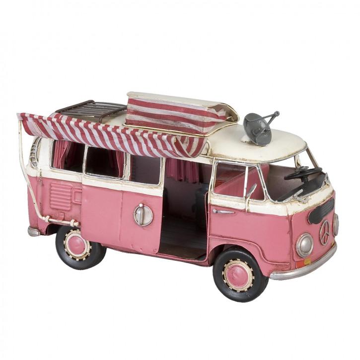 Modell Volkswagen Bus T1 Bully Wohnwagen aus Metall
