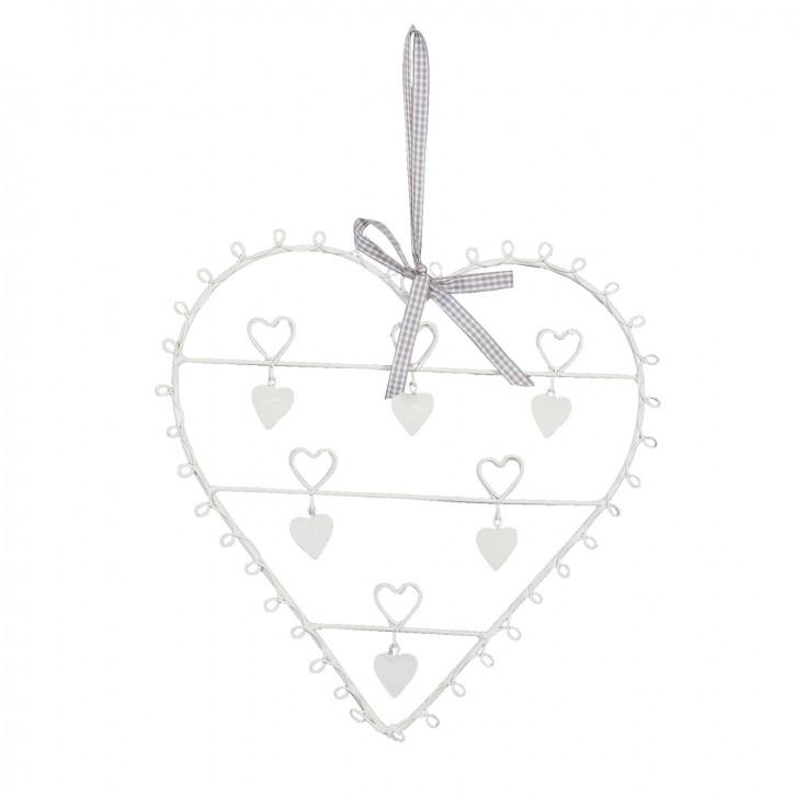 Kartenhalter Herz klein ca. 30 cm