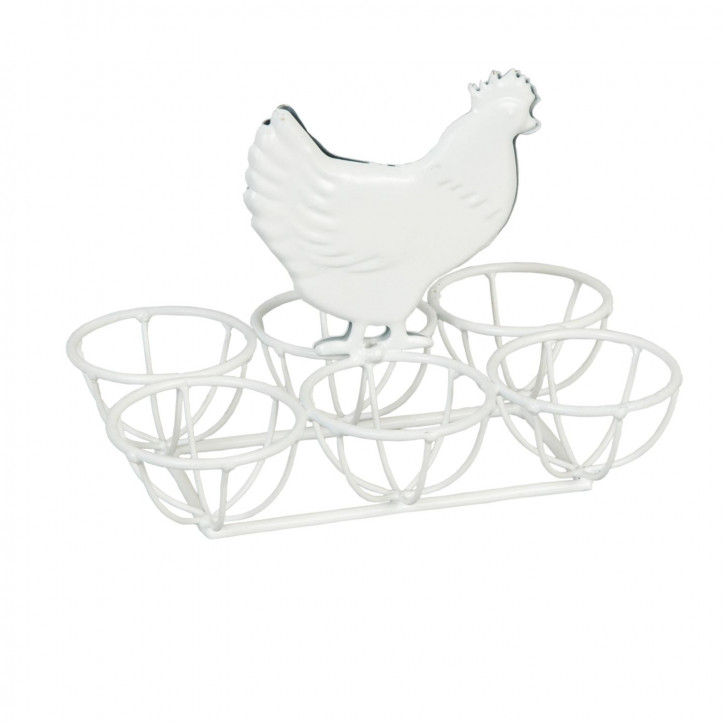 Eierständer Huhn Weiß ca. 16 x 11 x 12 cm