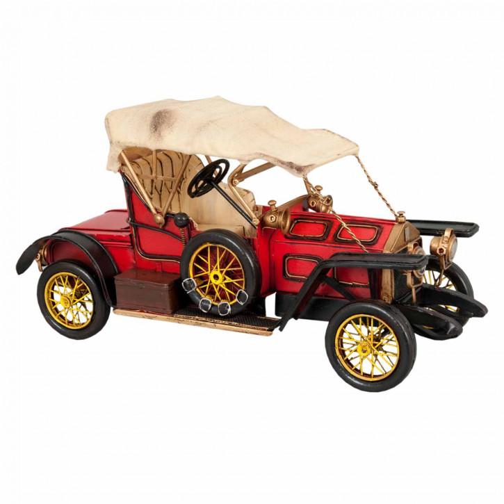"Modell Ford-T ""Blechliesel"" rot aus Metall"