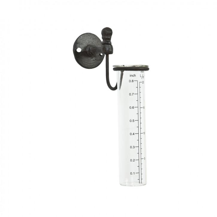 Wand-Niederschlagsmesser aus Eisen 21*12*5 cm