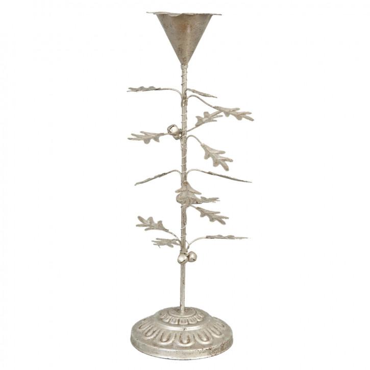 Schöner Kerzenständer mit Blättern (2 Stk.)