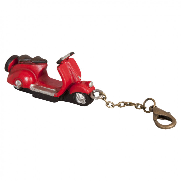 Sleutelhanger scooter 5x2x2 cm