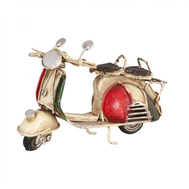 Blechmodel scooter 11x5x8 cm
