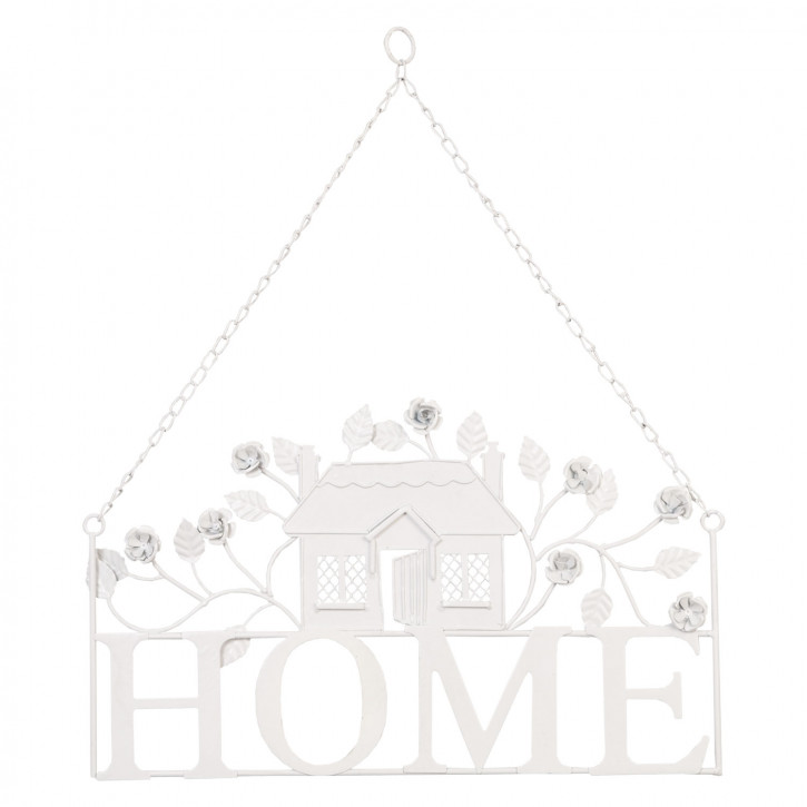 Hänger decoratie home 43x51 cm
