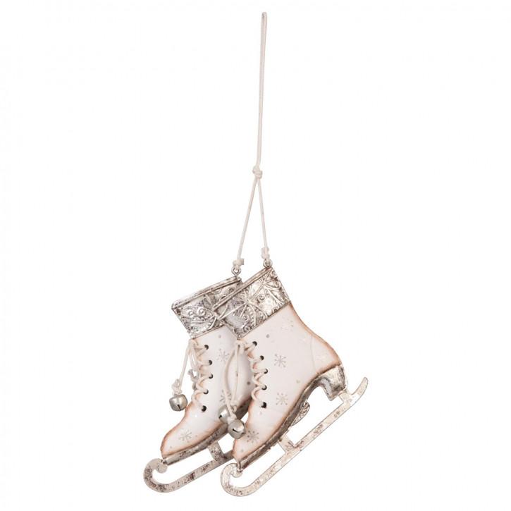 Dekoration schaats hangend 11x10 cm