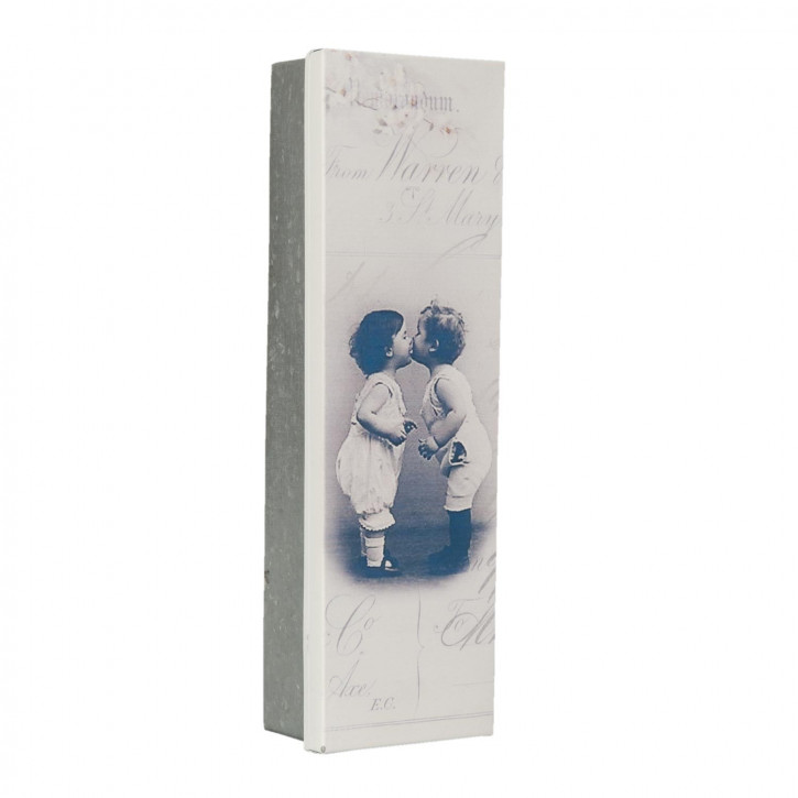 Blechkiste Dose Schatulle Büchse Kiste ca. 24 x 7 x 4 cm