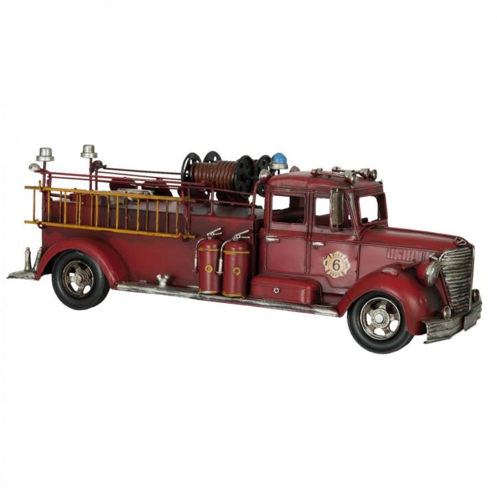 Modell Feuerwehrfahrzeug 43x16x14 cm