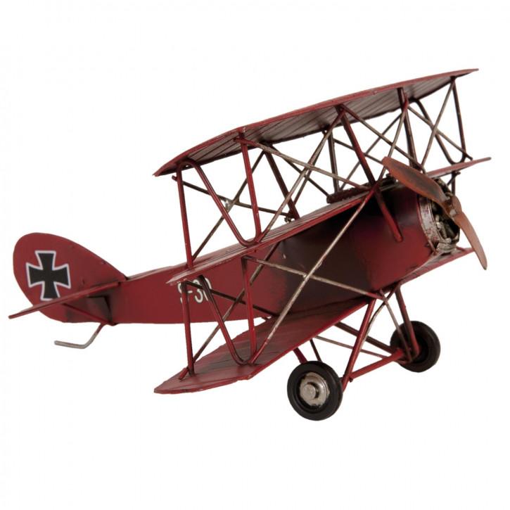Blechmodel Airplane 25x25x14 cm
