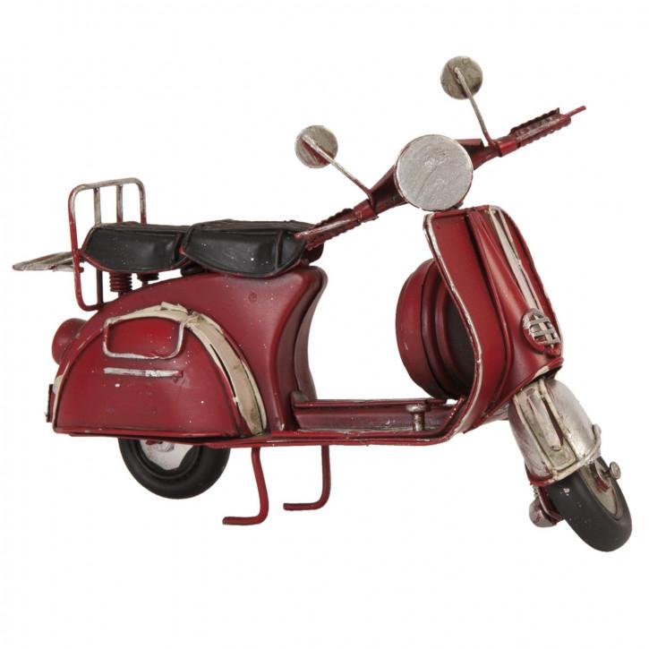 Modell Motorroller 17x8x10 cm