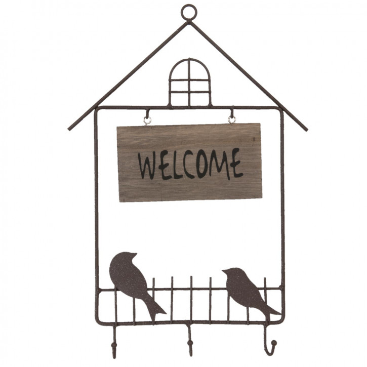 Welcome bord 26x37 cm