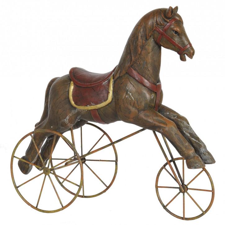 Pferd auf Rädern