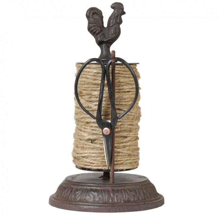Schnurhalter mit Schere Hahn ca. 25 cm