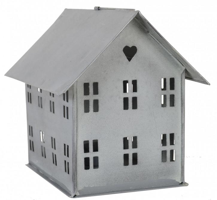 Teelichthalter Haus breit