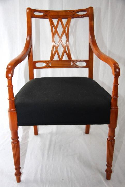 """6er Set Stühle aus Kirschholz"""