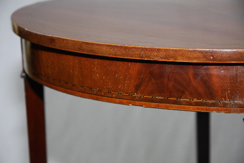 Halltable Edwardian Demi Lune