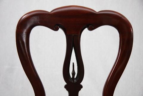 Ballon Back Chair Stuhl Sessel Antik Esszimmerstuhl