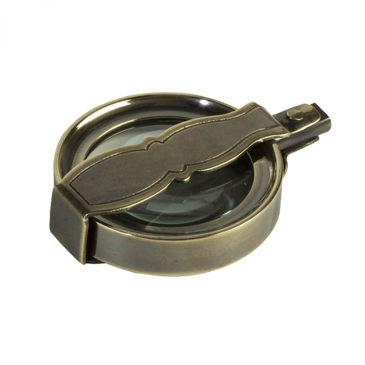 Mini Lupe Vintage Travel Magnifier